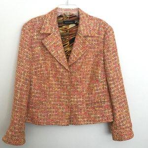 ESCADA Textured Weave Jacket with Silk Lining